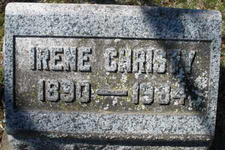 CHRISTY, IRENE - Montgomery County, Ohio | IRENE CHRISTY - Ohio Gravestone Photos