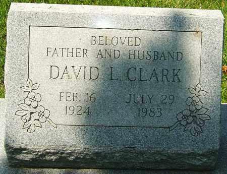 CLARK, DAVID L - Montgomery County, Ohio | DAVID L CLARK - Ohio Gravestone Photos