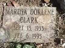 CLARK, MARTHA DORLENE - Montgomery County, Ohio | MARTHA DORLENE CLARK - Ohio Gravestone Photos
