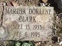 CLARK, MARTHA DORLENE - Montgomery County, Ohio   MARTHA DORLENE CLARK - Ohio Gravestone Photos