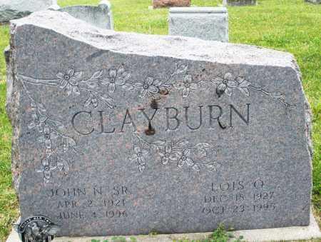 CLAYBURN, LOIS O. - Montgomery County, Ohio   LOIS O. CLAYBURN - Ohio Gravestone Photos
