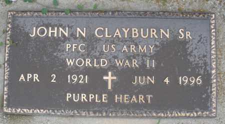 CLAYBURN, JOHN N. SR. - Montgomery County, Ohio   JOHN N. SR. CLAYBURN - Ohio Gravestone Photos