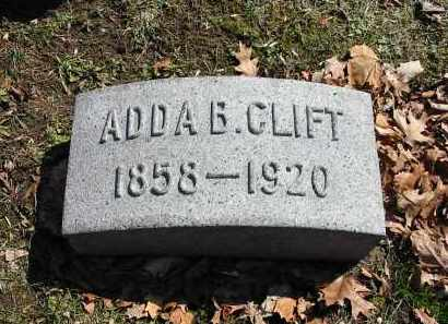 CLIFT, ADDA B. - Montgomery County, Ohio   ADDA B. CLIFT - Ohio Gravestone Photos