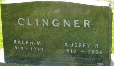 CLINGNER, RALPH W - Montgomery County, Ohio | RALPH W CLINGNER - Ohio Gravestone Photos