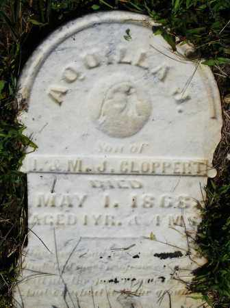 CLOPPERT, AQUILLA J. - Montgomery County, Ohio | AQUILLA J. CLOPPERT - Ohio Gravestone Photos