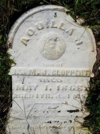 CLOPPERT, AQUILLA J. - Montgomery County, Ohio | AQUILLA J. CLOPPERT - Ohio Gravestone Photos