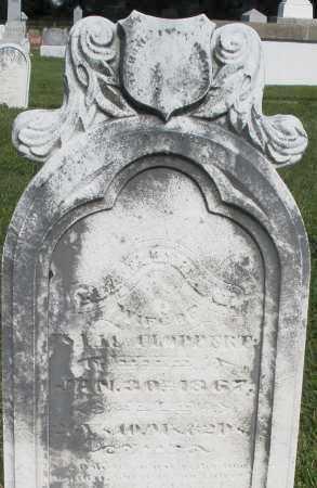 CLOPPERT, MARTHA - Montgomery County, Ohio | MARTHA CLOPPERT - Ohio Gravestone Photos