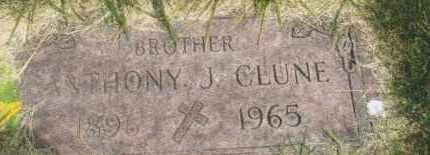 CLUNE, ANTHONY J. - Montgomery County, Ohio | ANTHONY J. CLUNE - Ohio Gravestone Photos