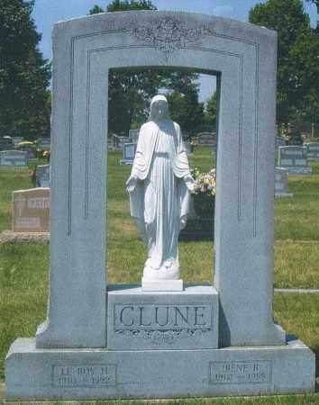 RODERER CLUNE, IRENE ROSE - Montgomery County, Ohio | IRENE ROSE RODERER CLUNE - Ohio Gravestone Photos