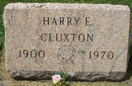 CLUXTON, HARRY E. - Montgomery County, Ohio | HARRY E. CLUXTON - Ohio Gravestone Photos