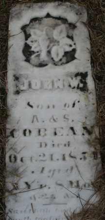 COBEAN, JOHN W. - Montgomery County, Ohio   JOHN W. COBEAN - Ohio Gravestone Photos