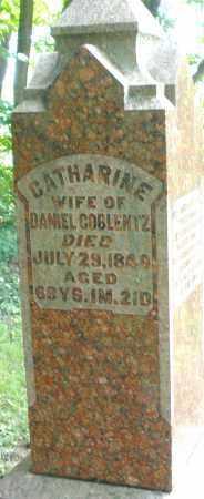 COBLENTZ, CATHARINE - Montgomery County, Ohio | CATHARINE COBLENTZ - Ohio Gravestone Photos