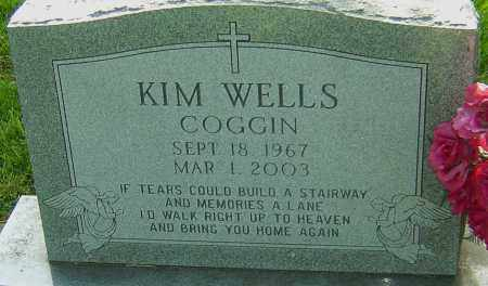 WELLS COGGIN, KIM - Montgomery County, Ohio | KIM WELLS COGGIN - Ohio Gravestone Photos