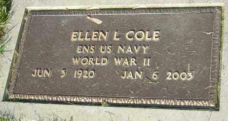 COLE, ELLEN - Montgomery County, Ohio   ELLEN COLE - Ohio Gravestone Photos