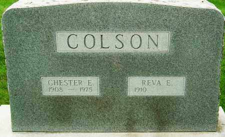 ALLEN COLSON, REVA ELIZABETH - Montgomery County, Ohio | REVA ELIZABETH ALLEN COLSON - Ohio Gravestone Photos