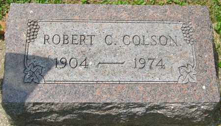 COLSON, ROBERT C - Montgomery County, Ohio | ROBERT C COLSON - Ohio Gravestone Photos