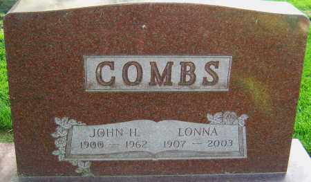 COMBS, LONNA - Montgomery County, Ohio | LONNA COMBS - Ohio Gravestone Photos