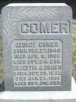 COMER, GEORGE - Montgomery County, Ohio | GEORGE COMER - Ohio Gravestone Photos