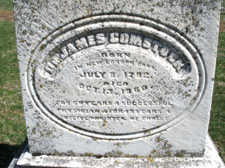 COMSTOCK, JAMES DR. - Montgomery County, Ohio   JAMES DR. COMSTOCK - Ohio Gravestone Photos