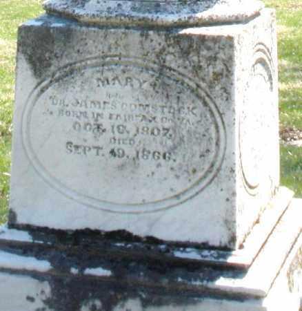 COMSTOCK, MARY - Montgomery County, Ohio | MARY COMSTOCK - Ohio Gravestone Photos