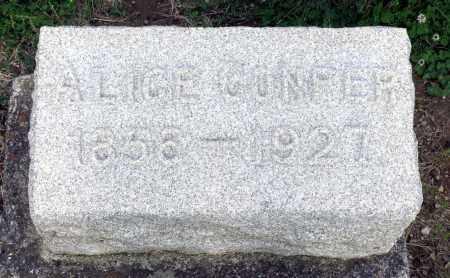 CONFER, ALICE - Montgomery County, Ohio | ALICE CONFER - Ohio Gravestone Photos
