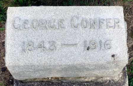 CONFER, GEORGE - Montgomery County, Ohio | GEORGE CONFER - Ohio Gravestone Photos