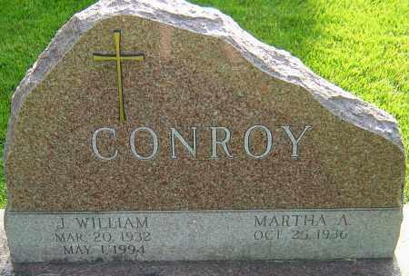 CONROY, J WILLIAM - Montgomery County, Ohio | J WILLIAM CONROY - Ohio Gravestone Photos