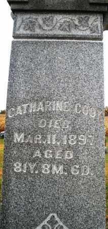 COOK, CATHARINE - Montgomery County, Ohio | CATHARINE COOK - Ohio Gravestone Photos