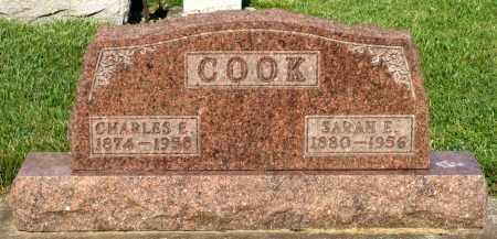 COOK, CHARLES E. - Montgomery County, Ohio | CHARLES E. COOK - Ohio Gravestone Photos