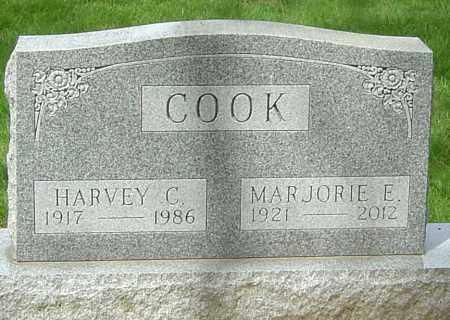 COOK, MARJORIE E - Montgomery County, Ohio | MARJORIE E COOK - Ohio Gravestone Photos