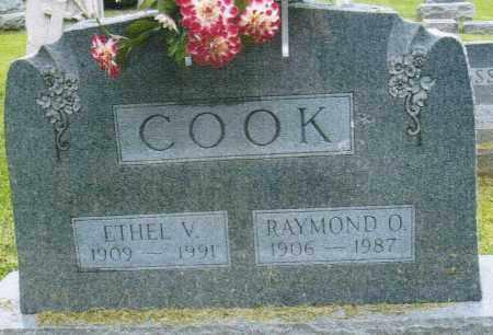 COOK, ETHEL VIOLA - Montgomery County, Ohio   ETHEL VIOLA COOK - Ohio Gravestone Photos