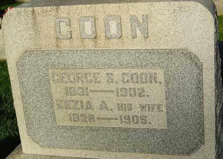COON, GEORGE S - Montgomery County, Ohio | GEORGE S COON - Ohio Gravestone Photos