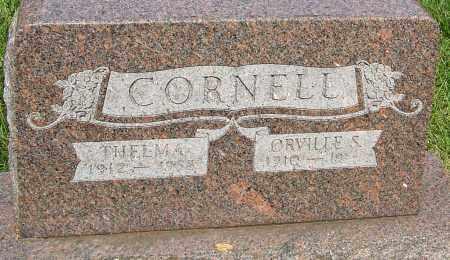 CORNELL, THELMA MARJORIE - Montgomery County, Ohio | THELMA MARJORIE CORNELL - Ohio Gravestone Photos