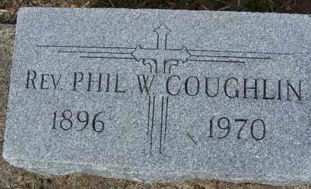 COUGHLIN, PHIL W - Montgomery County, Ohio | PHIL W COUGHLIN - Ohio Gravestone Photos