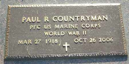 COUNTRYMAN, PAUL R - Montgomery County, Ohio | PAUL R COUNTRYMAN - Ohio Gravestone Photos