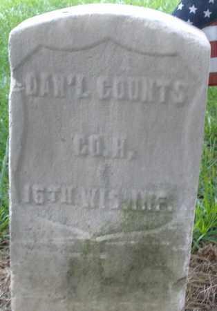 COUNTS, DANIEL - Montgomery County, Ohio | DANIEL COUNTS - Ohio Gravestone Photos