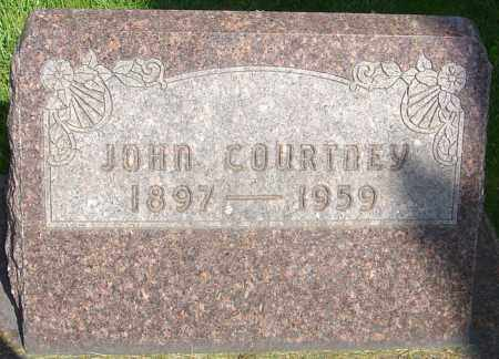 COURTNEY, JOHN - Montgomery County, Ohio | JOHN COURTNEY - Ohio Gravestone Photos