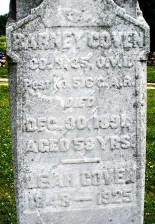 COVEN, BARNEY - Montgomery County, Ohio   BARNEY COVEN - Ohio Gravestone Photos