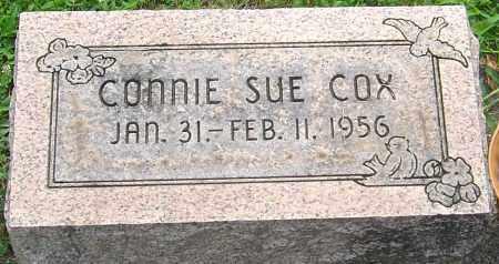 COX, CONNIE SUE - Montgomery County, Ohio   CONNIE SUE COX - Ohio Gravestone Photos