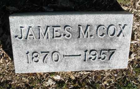COX, JAMES M. - Montgomery County, Ohio | JAMES M. COX - Ohio Gravestone Photos