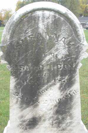 COX, SUSANNAH - Montgomery County, Ohio | SUSANNAH COX - Ohio Gravestone Photos