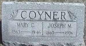 COYNER, MARY C. - Montgomery County, Ohio | MARY C. COYNER - Ohio Gravestone Photos