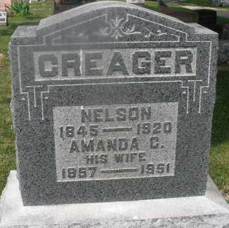 CREAGER, NELSON - Montgomery County, Ohio   NELSON CREAGER - Ohio Gravestone Photos