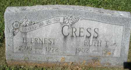 CRESS, RUTH T. - Montgomery County, Ohio | RUTH T. CRESS - Ohio Gravestone Photos