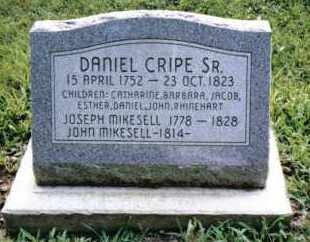 MIKESELL, JOSEPH - Montgomery County, Ohio   JOSEPH MIKESELL - Ohio Gravestone Photos