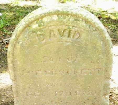 CROCKETT, DAVID - Montgomery County, Ohio | DAVID CROCKETT - Ohio Gravestone Photos