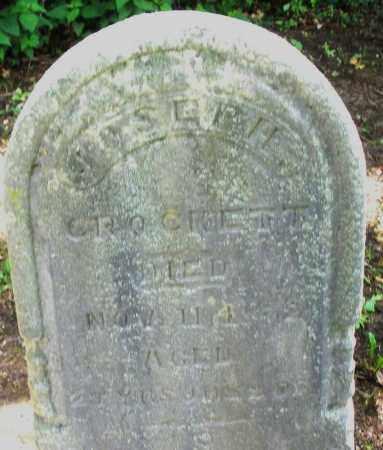 CROCKETT, JOSEPH - Montgomery County, Ohio | JOSEPH CROCKETT - Ohio Gravestone Photos