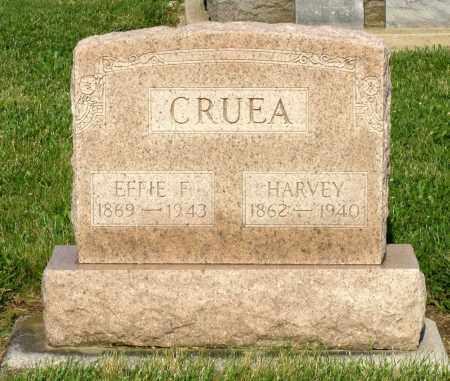 CRUEA, EFFIE F. - Montgomery County, Ohio | EFFIE F. CRUEA - Ohio Gravestone Photos