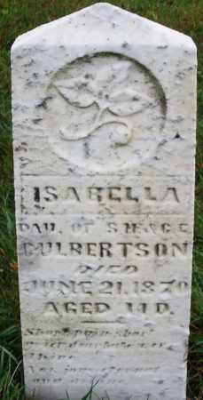 CULBERTSON, ISABELLA - Montgomery County, Ohio | ISABELLA CULBERTSON - Ohio Gravestone Photos
