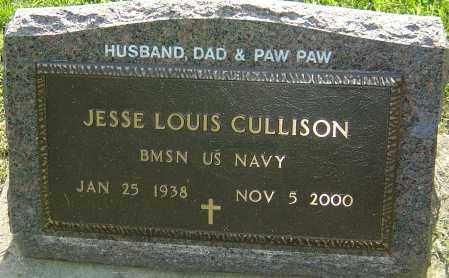 CULLISON, JESSE LOUIS - Montgomery County, Ohio   JESSE LOUIS CULLISON - Ohio Gravestone Photos